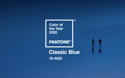 Colore dell'anno 2020 Classic – Blue Pantone