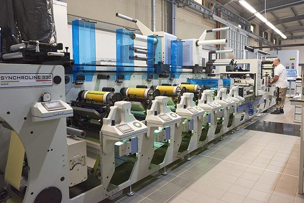 Etichettificio Solace - Reparto produzione